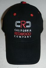 NWOT California Redwood Lumber Company Embroidered Baseball Hat Cap by Otto