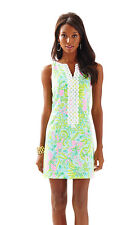 NWT Lilly Pulitzer Multi Coconut Jungle Cathy Shift Dress, Sz 4, $188