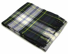 Bronte Merino Lambswool Throw - Dress Gordon Tartan