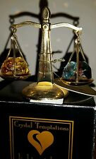 Crystal Temptations Light Catchers 24K Gold Plated & Swarovski Crystals Libra