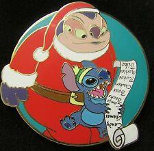 Disney Auctions Stitch with Jumbaa Santa LE Pin