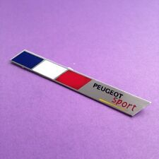 for peugeot sport Metal Sticker Car Badge Decal Logo Badge Emblem single pc