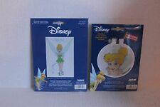 Disney Tinker Bell Lot of 2 Counted Cross Stitch Kits 1134-47 1135-77 Janlynn