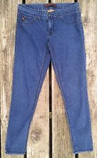 "Women's Juniors Domaine Size 5 Darkwash Stretch Skinny Jeans 27"" Inseam"