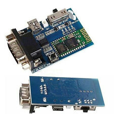 RS232 Bluetooth Serial Adapter Communication Master-Slave 2 Modes MINI USB 5v