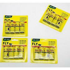 16 ROLLS INSECT BUG FLY GLUE PAPER CATCHER TRAP RIBBON TAPE STRIP STICKY FLIES M