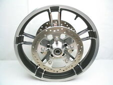 Enforcer 19 X 3.5 Front Wheel Rim & Rotors from 2014 Harley Street Glide FLHX