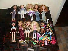 BRATZ DOLLS, CLOTHES & ACCESSORIES...MIXED LOT...USED...PRIORITY SHIPPING