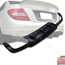 Unpainted Mercedes BENZ W204 C-class Sedan Rear Diffuser 2012-2013 §