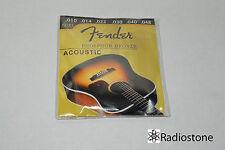 fender strings for acoustic guitar USA seller