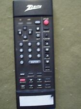 ZENITH TV, VCR REMOTE (WORKING LAST USE)