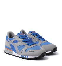 Diadora Titan ii Mens UK 9 EU 43 Blue Bell Grey Ash Dust New Sneaker Trainers