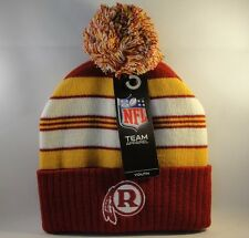 Kids Youth Size NFL Washington Redskins Retro Cuffed Knit Pom Hat