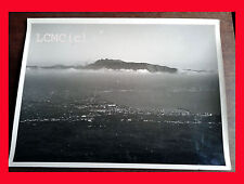 FOTOGRAFIA PHOTO VINTAGE B/N BLACK AND WHITE 1978 PANORAMA VEDUTA AEREA CAMPANIA