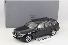 Dealer OEM 1:18 scale BMW 5er 5 Series 545i Touring (E61) - Black (by Kyosho)