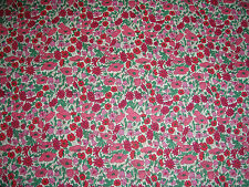 "LIBERTY OF LONDON TANA LAWN FABRIC ""Petal & Bud"" 3.2 METRES (320 CM) PINKS"