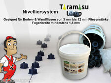 LOOP Fliesen Nivelliersystem | Plan System | Fliesen plan verlegen (1,7 mm) BS1