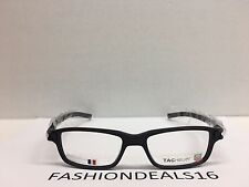 New Tag Heuer w/TAGS 7602 Track S Black TH7602 007 52mm Optical Eyeglasses