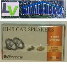 2/857 Phonocar Kit 2 Vie Woofer Tweeter Filtri 90 Watt 16,5 Cm Auto Linea TD