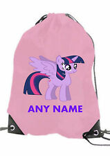Personalised GIRL My Little Pony Twilight Sparkles  Gym,Swimming PE, School Bag