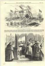 1870 Opening The Mayo Colliery Gogose Chandah India Blessing Paschal Lamb