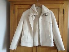 Next Petite 8 Faux Suede Jacket With Buckle Collar