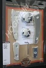 Harley softail fxst flst swingarm pivot bolt cover frame insert set  48452-00