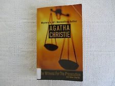 2001 The Witness For The Prosecution Agatha Christie St Martins paperback FN-