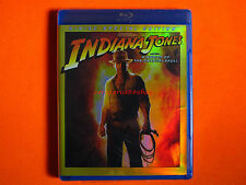 INDIANA JONES & THE KINGDOM OF THE CRYSTAL SKULL Bluray **Brand New & Sealed**