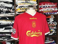 LIVERPOOL FC home 2001/2003 shirt - LITMANEN #36 - Finland-Barcelona-Ajax-Jersey