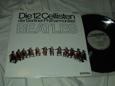 Die 12 Cellisten der Berliner Philharmoniker Play The Beatles LP Japan Import