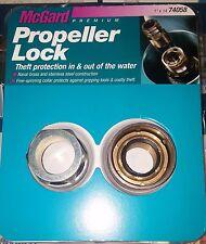"""McGARD PROPELLER LOCK SET 1"""" x 14 MERCRUISER SSM NAVAL BRASS/STAINLESS 74058 NEW"""