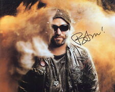 BAM MARGERA LOT OF 3 autographed 8x10 photos      AWESOME POSES      VIVA LA BAM