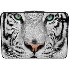 "121 - Funda de neopreno MacBook / portatil 15.6"" pulgadas - Tigre blanco real"