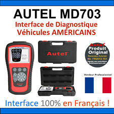 AUTEL MAXIDIAG Elite 703 - Valise Diagnostique MULTIMARQUES PRO Diag Valise OBD2