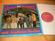 9/3R  Ambros Seelos - Beat and Sweet / EX+ sehr gut