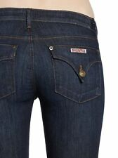 "NWT HUDSON JEANS Sz26 COLLIN SKINY-STRETCH 12""LEG OPENING IN GENOA BLUE $189."