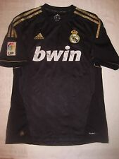 2011-2012 Adidas Real Madrid Away Black/Gold Jersey Shirt Kit Trikot Ronaldo M