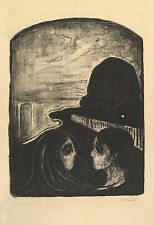 Edvard Munch Print Reproduction: Attraction I - Fine Art Print
