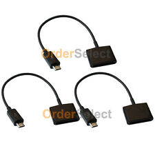 3 Charger Adapter for Apple iPhone 3/4 to USB Micro LG Phoenix K3 K4 K7 K8 K10