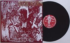 Varukers - Murder LP FRENCH 2010 PRESS Discharge Sick On The Bus Vile UK 82 Punk