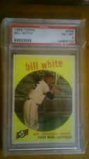 1959 Topps Bill White #359 Baseball Card