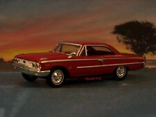 1963 63 1/2 FORD GALAXIE 500 FASTBACK COUPE 1/64 SCALE DIORAMA MODEL COLLECTIBLE