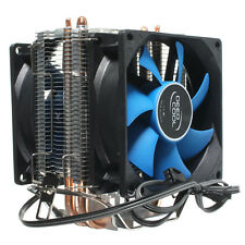 Dual Fan CPU Quiet Heatsink Cooler For Intel LGA775/1156/1150 AMD AM2/AM2+/AM3&+