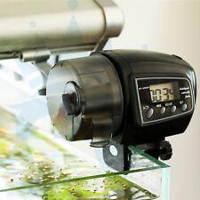 Digital LCD Automatic Aquarium Tank Automatic Fish Feeder Timer Food Feeder NEW