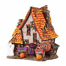 """Department 56 Halloween """"SWEET TRAPPINGS COTTAGE"""" New 2016 FREE SHIPPING"""