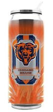 Chicago Bears Stainless Steel Thermo Can - 16.9oz [NEW] Tumbler Mug Coffee