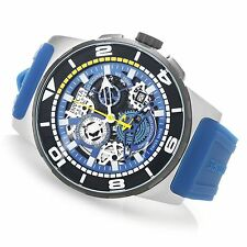 18946 Invicta Reserve 47mm Sea Vulture Swiss Quartz Chronograph Blue Strap Watch