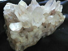 QUARTZ  CRYSTAL CLUSTER FROM  WISCONSIN JEMY GREAT GIFT FOR A ROCKHOUND