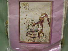 "Bucilla ""Countryside"" scene Crewel Needlecraft Kit, New"